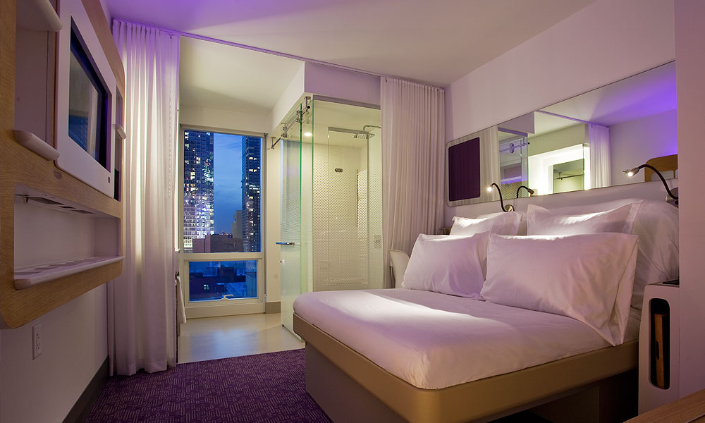 Yotel new york the cosy traveller for Hippest hotels in nyc