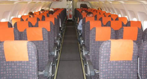 I'm more used to being cooped up in economy on short-haul flights. Image: www.seatplans.com