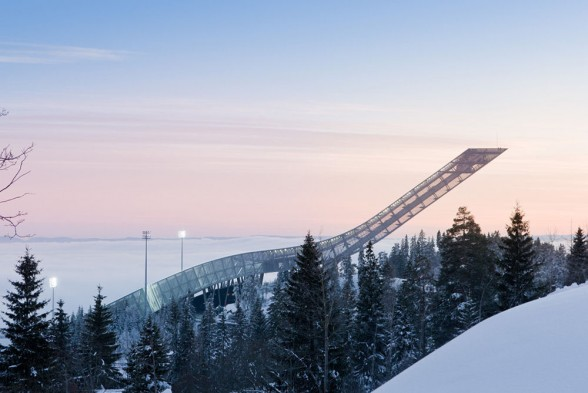 The ski jump - you just wouldn't, would you? (Image from topboxdesign.com)