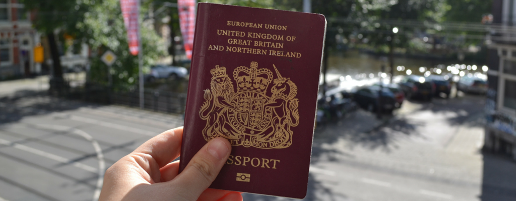 passport in amsterdam