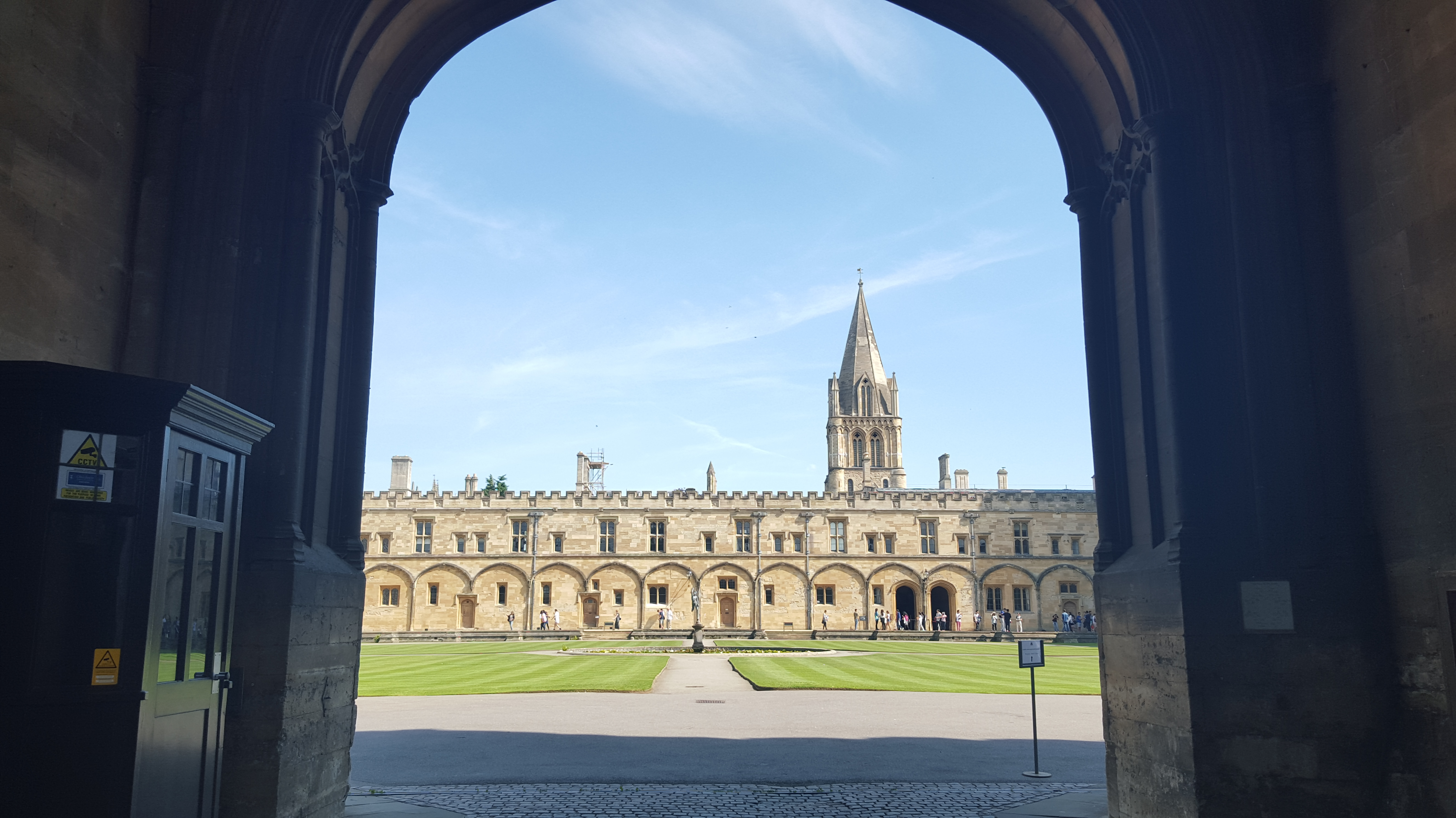 My Night S Stay At Christ Church College Oxford The Cosy Traveller