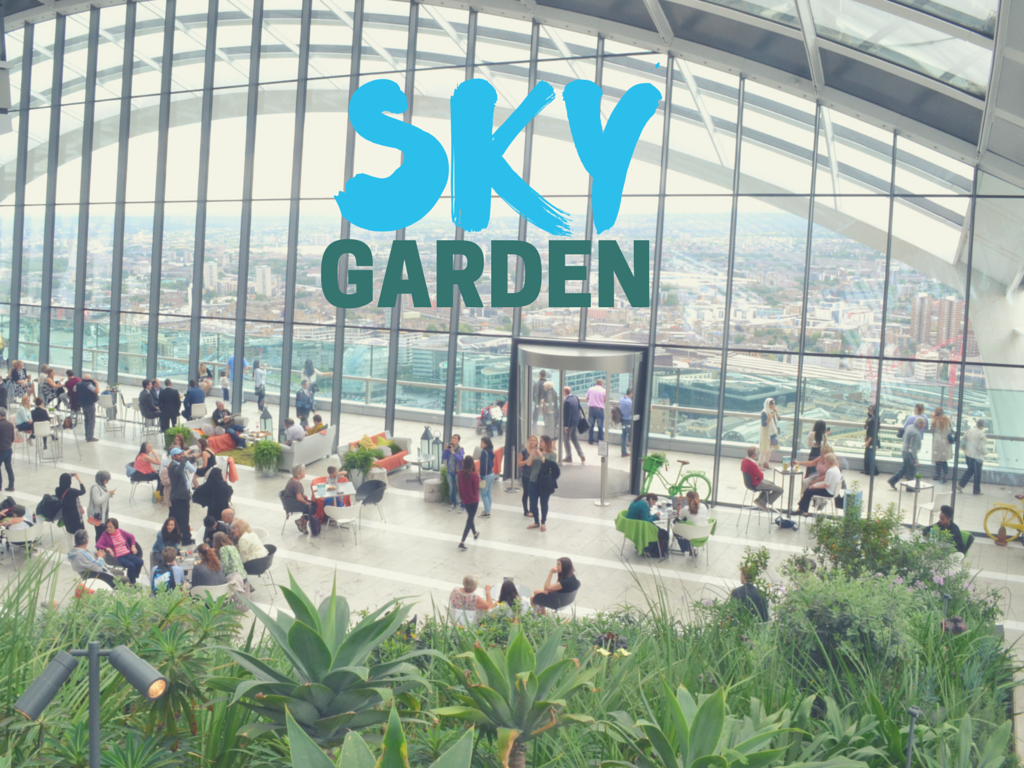Forget The Shard Head Up The Sky Garden Instead The