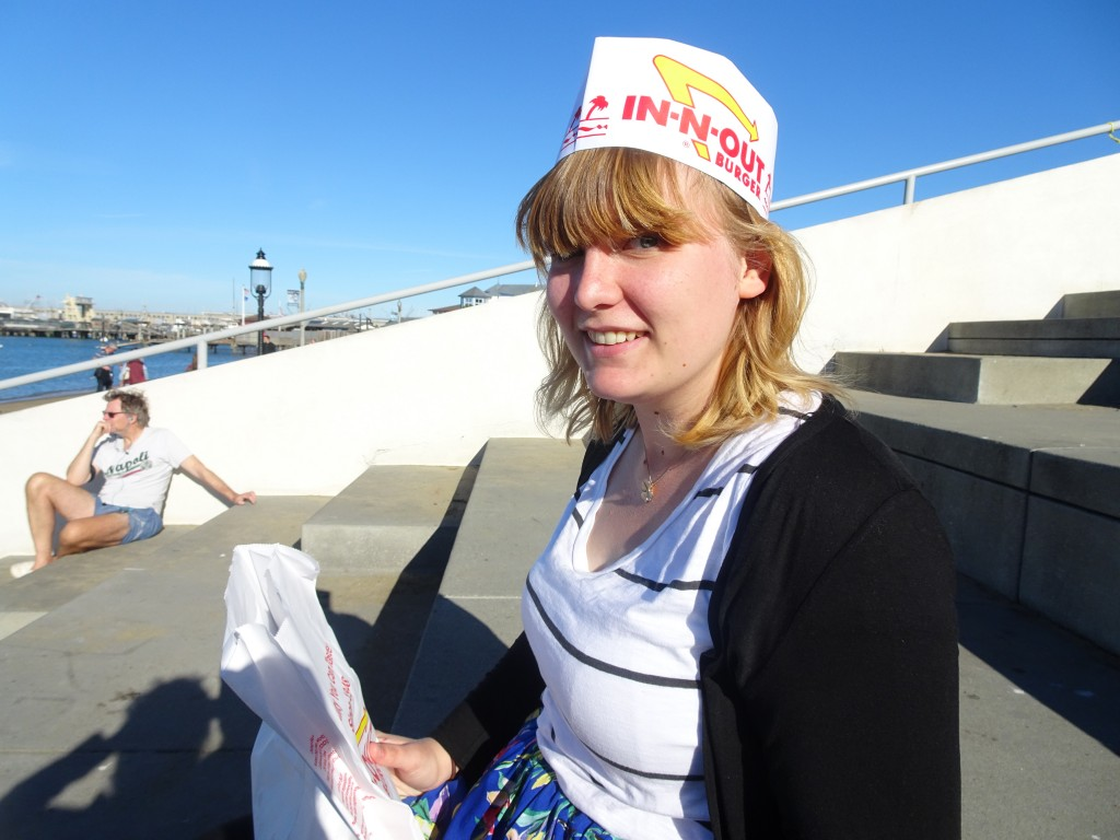 In-N-Out Burger have a vegetarian menu, and it is every bit as wonderful as you would expect....