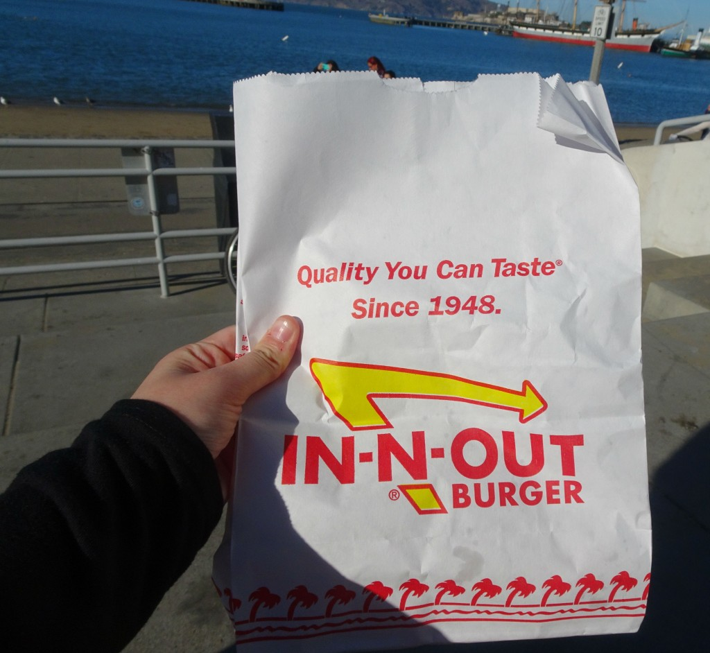 In-N-Out Burger has a vegetarian menu that has to be seen to be believed...