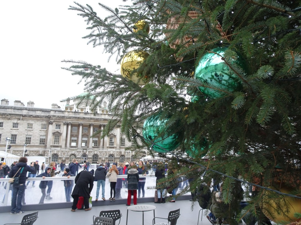 Christmas sights in London: Somerset House