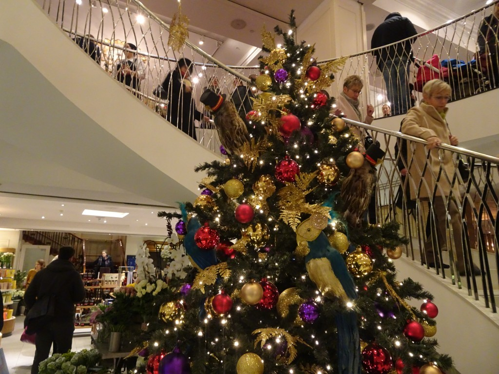 Christmas sights in London: Fortnum and Mason