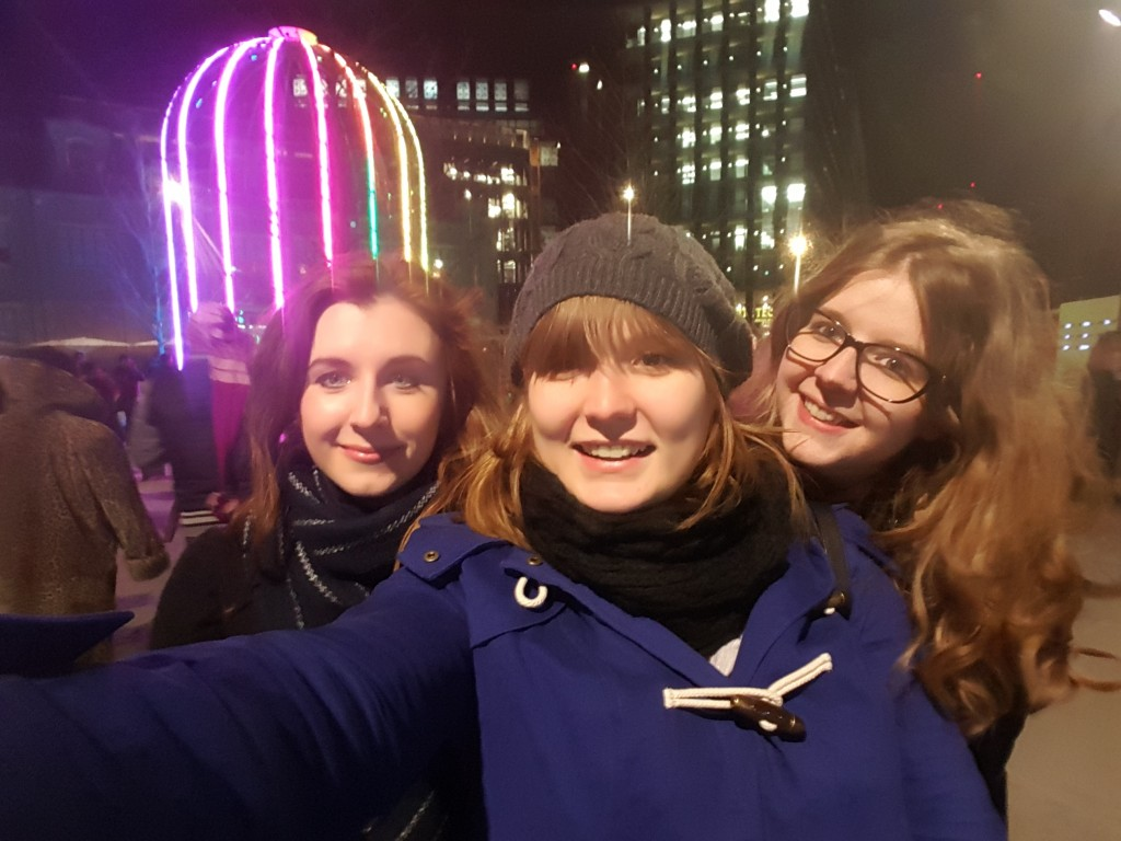 Us at the Lumiere Festival!