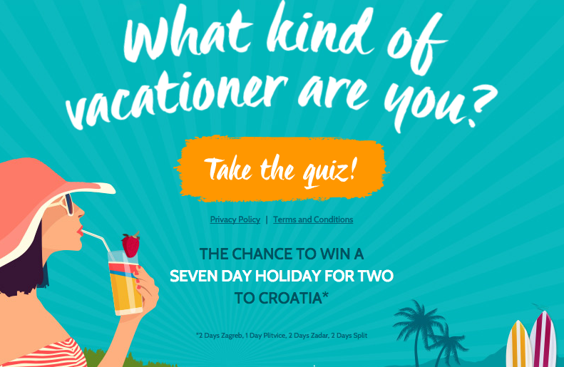 What kind of traveller are you? Win a trip to Croatia! Travel competition
