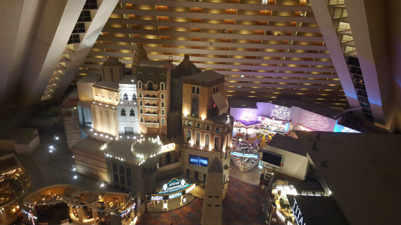 Where's the best place to stay in Las Vegas: On The Strip inside the Luxor