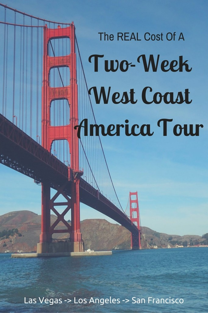 how much does a tour of west coast america cost?