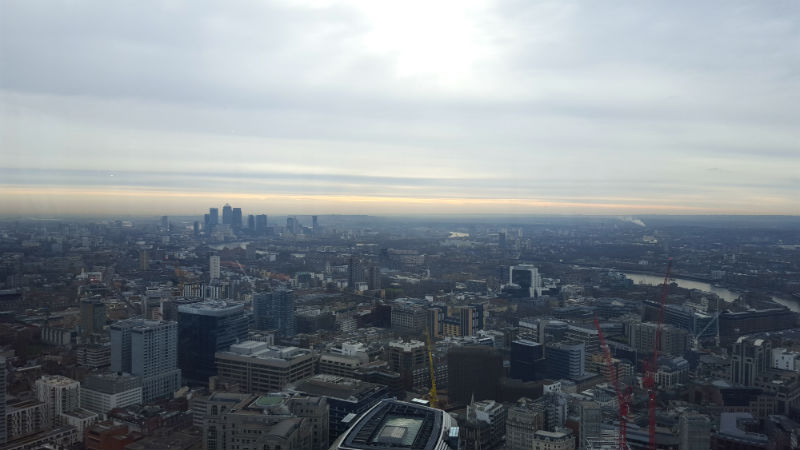 Breakfast at Duck and Waffle