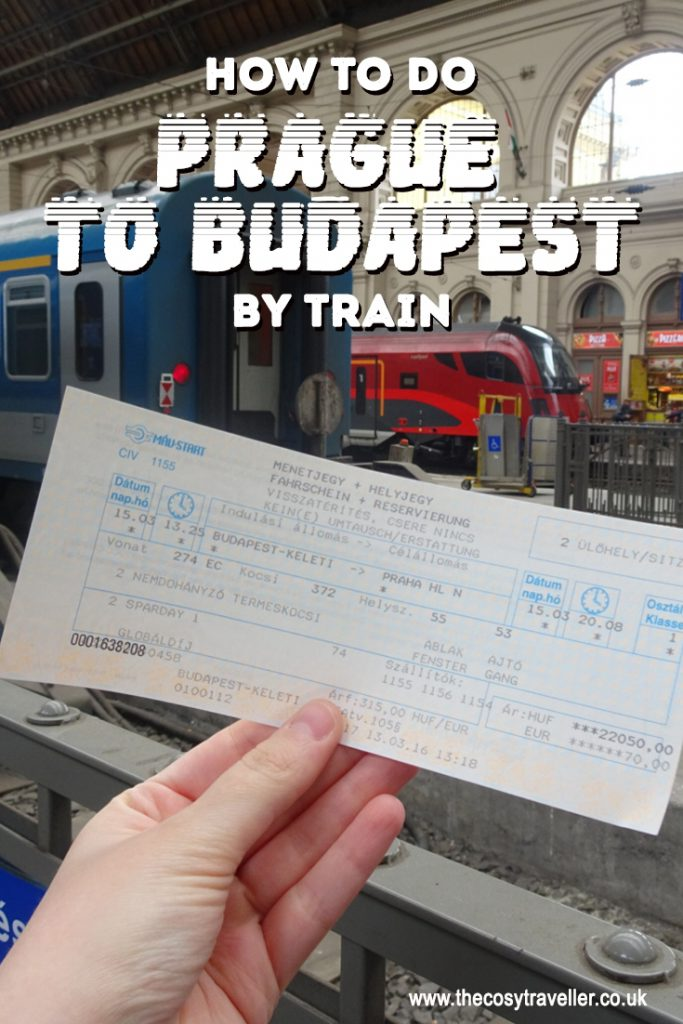 How to do Budapest to Prague by train