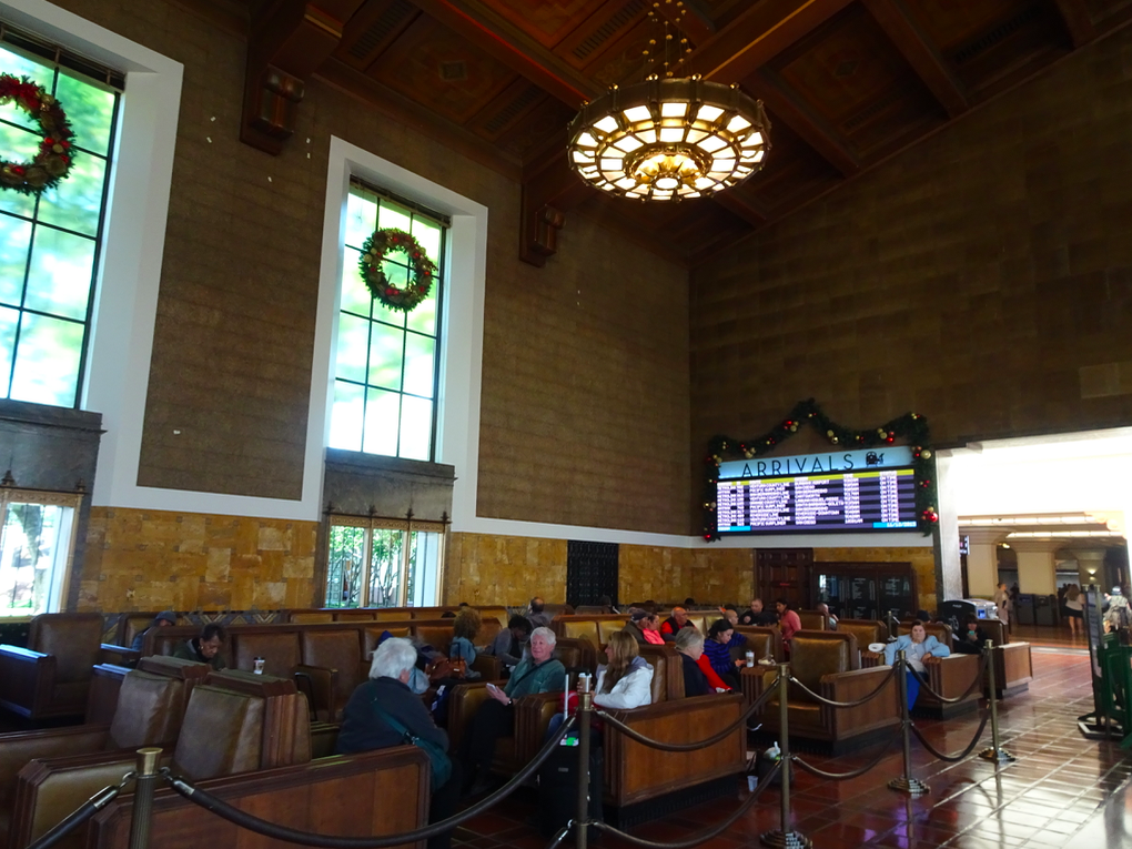 Los Angeles to San Francisco by train