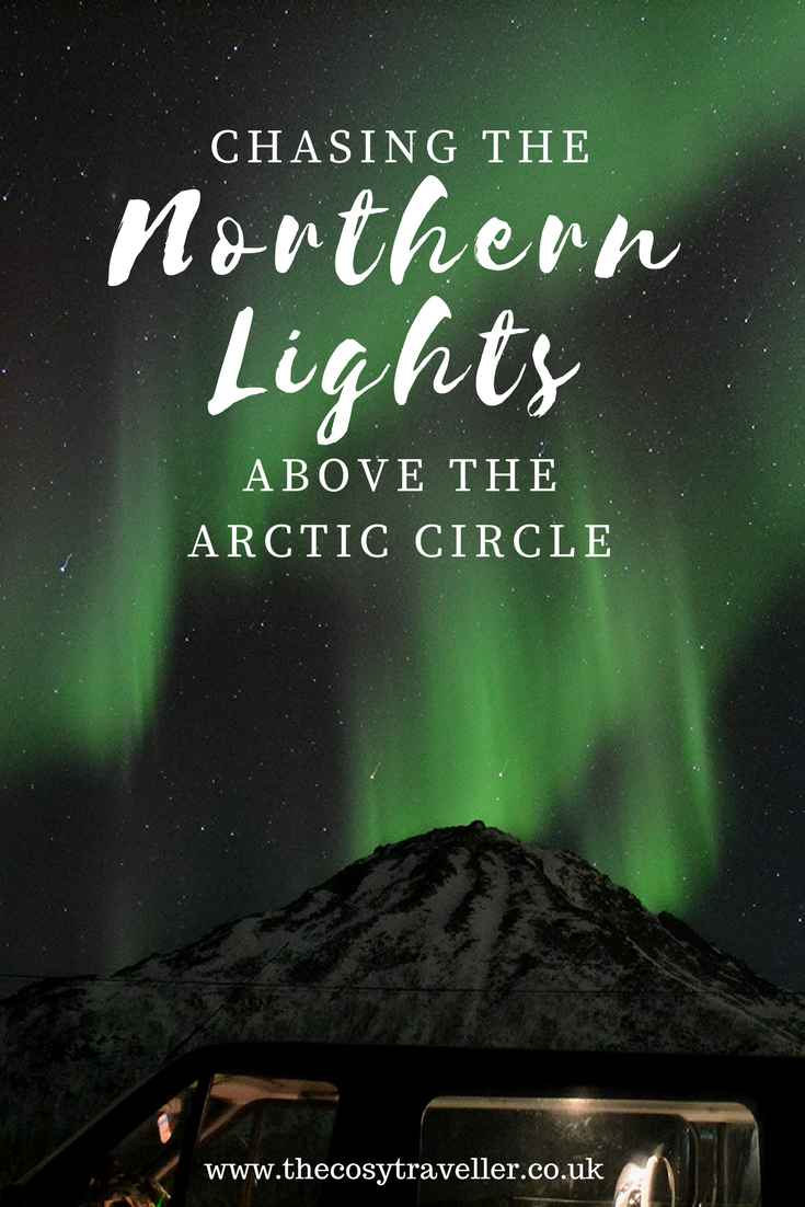 chasing the northern lights in trims with polar adventures