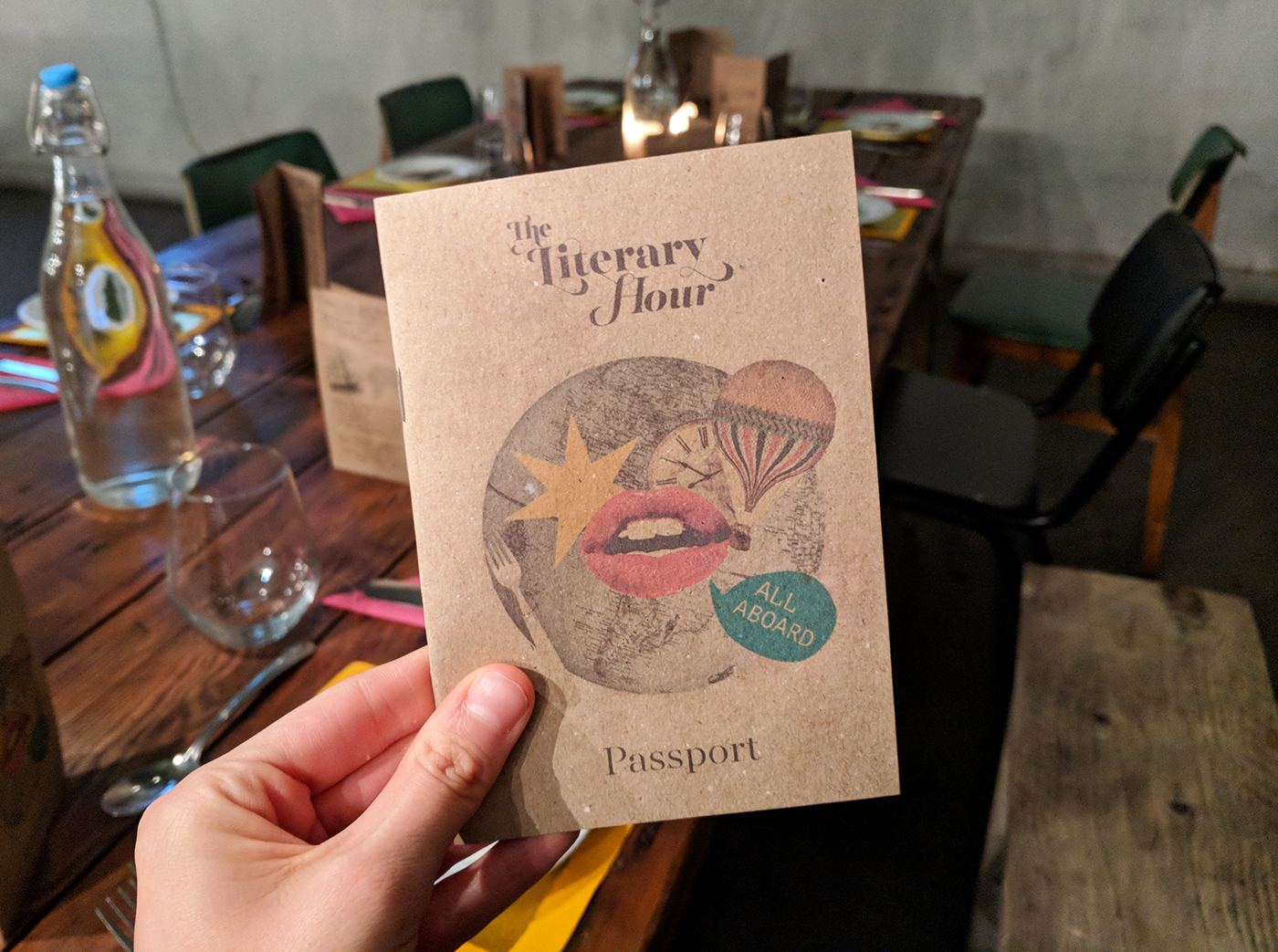 Around The World in 80 Days With The Literary Hour