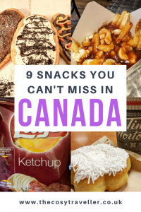 Canada Snacks that can't be missed