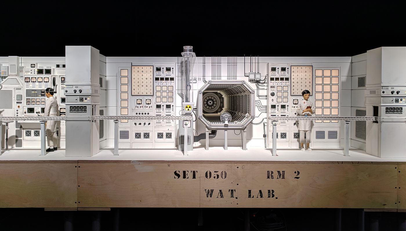 Wes Anderson Isle of Dogs exhibition review