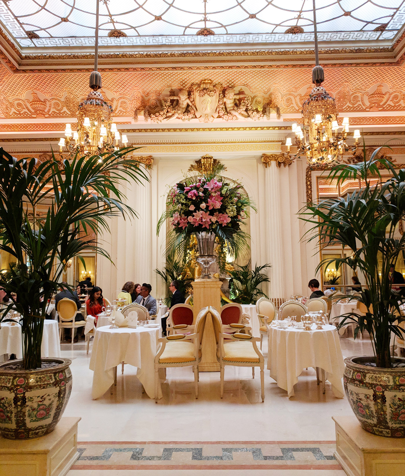 my full review of afternoon tea at The Ritz