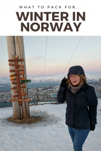 North Face what to pack for winter in norway