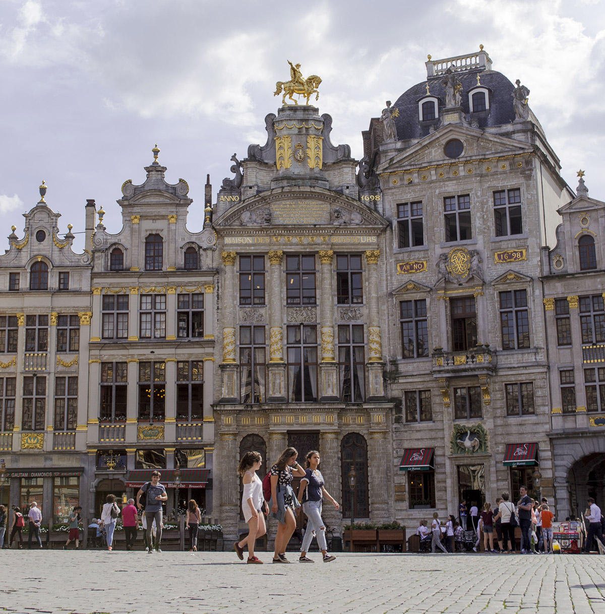 How much can you see in one afternoon In Brussels?