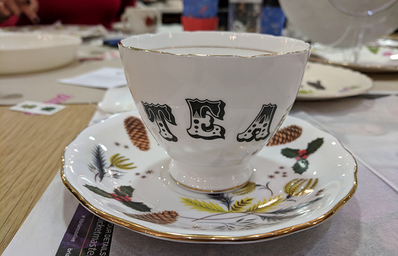 Review: Vintage China Upcycling With The Indytute
