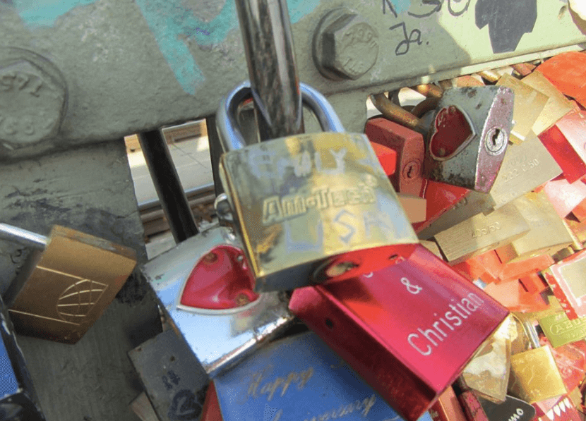 Ah yes, which friend wouldn't want to be reminded of that time you both went to Cologne and clipping a padlock onto the Hohenzollern Bridge?!