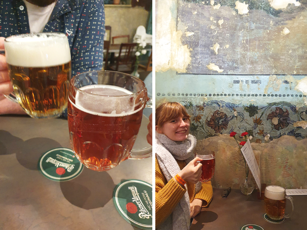 Quirky things to do in Krakow Poland: try syrup beer
